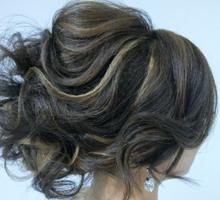 Bridal hair style by PonnieHsu Makeup Studio