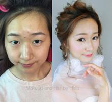 single eyelids OR unbalance eyelids ajustment by Cocoon makeup and hair