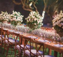 Beautiful Garden Wedding at Amanusa by AVAVI BALI WEDDINGS