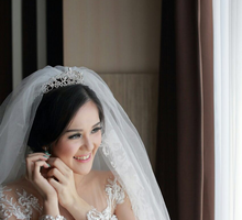 Wedding of Chacha & Tinus by Tiffany Roselin Makeup Artist