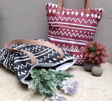 Tote bag with Classic Tribal Printed by ZEITGEIST
