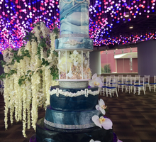 Beneath A Thousand Stars - The Making of The Cake  by SALTS Cake Couture