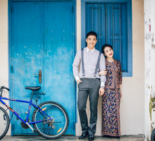 Gin Gin pre wedding shoot  by Cocoon makeup and hair