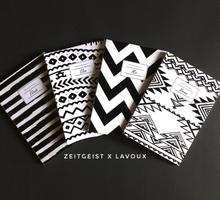 Monochrome Mini Notebook by ZEITGEIST