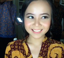 Rustic MakeUp for Sheilla Engagement day  by Celeste