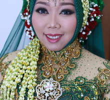 Wedding of matricia  by deZee Makeup and Wedding service