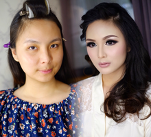 Ms Michelle Feodora by Imel Vilentcia Make Up Artist
