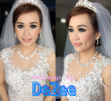 Wedding of Tommy & Glory by deZee Makeup and Wedding service
