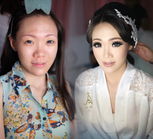 Wedding makeup for Ms Monica - Semarang by Imel Vilentcia Make Up Artist