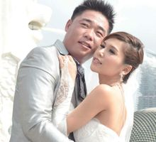 Singapore Pre-Wedding Photoshoot by Angel Chua Deaf Makeup