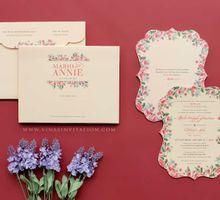 Mario & Annie by Vinas Invitation
