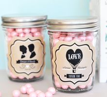 Customize Mason Jar by Cup Of Love Design Studio
