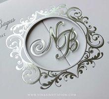 Nuritia & Bagus by Vinas Invitation