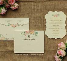 Robert & Sylvia by Vinas Invitation
