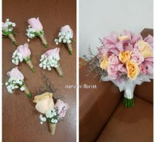 Room Decor & Handbouquet by nanami florist