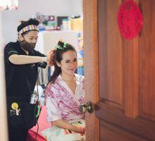 ROM + Wedding × 2 Days by Angel Chua Deaf Makeup