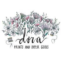 dora prints and paper goods