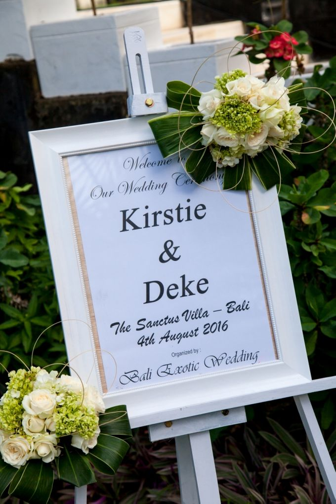 Deke & Kirstie by Bali Exotic Wedding Organizer - 003