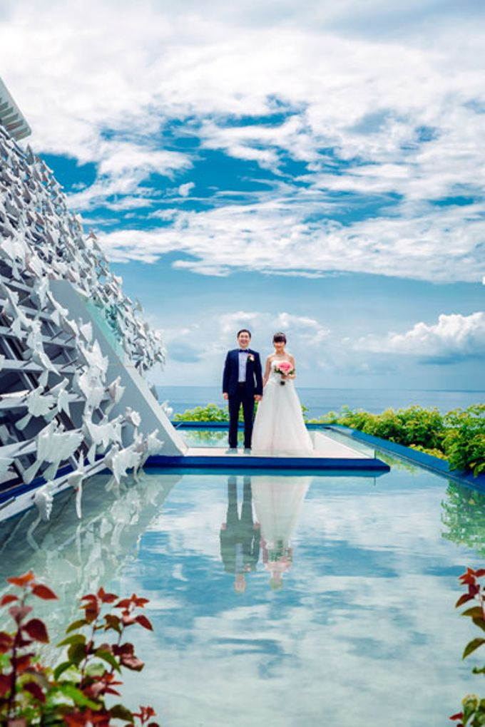 JJ & WN Wedding at The White Dove Chapel Banyan Tree by Max.Mix Photograph - 013