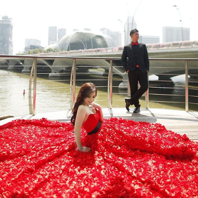 Wedding Gown Surabaya: Prewedding Of Liana & Hendri By Fairy Couture