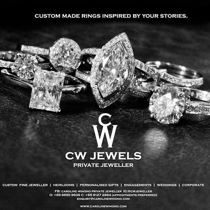 Engagement Rings by CW Jewels - 045