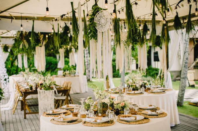 Catch Your Dreams Boho Wedding by Hari Indah Wedding Planning & Design - 031
