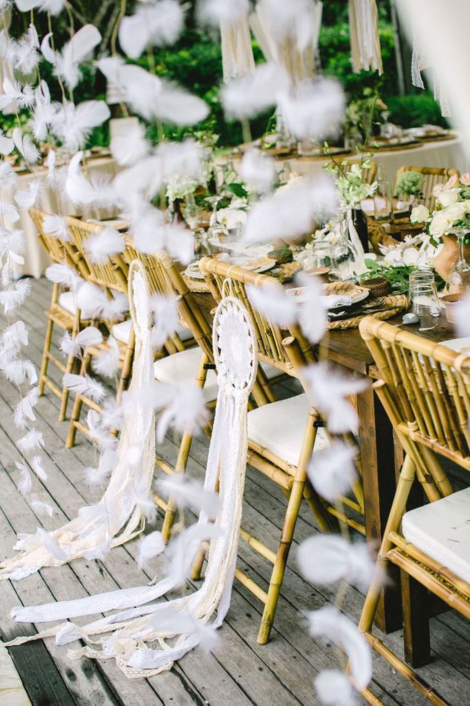 Catch Your Dreams Boho Wedding by Hari Indah Wedding Planning & Design - 033