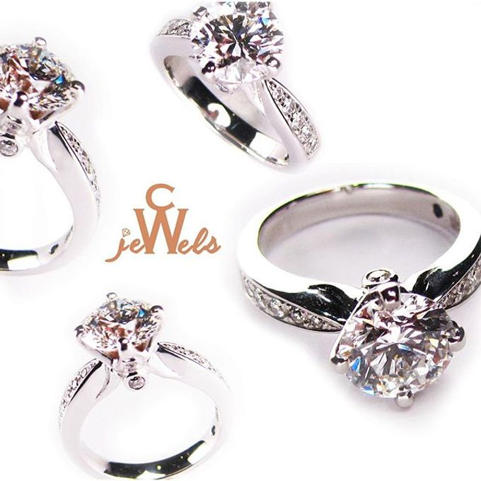 Engagement Rings by CW Jewels - 019
