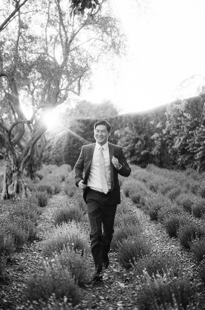 Chinese Tea Ceremony & Wedding in the Lavender Gardens of San Ysidro Ranch by Jen Huang Photo - 006