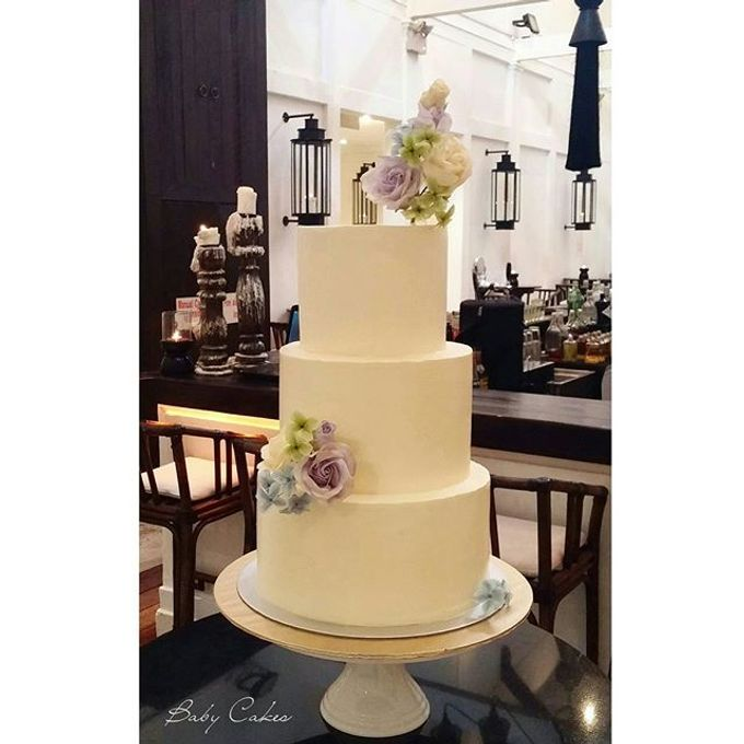Single tier and multi tiered cakes by Baby Cakes - 007