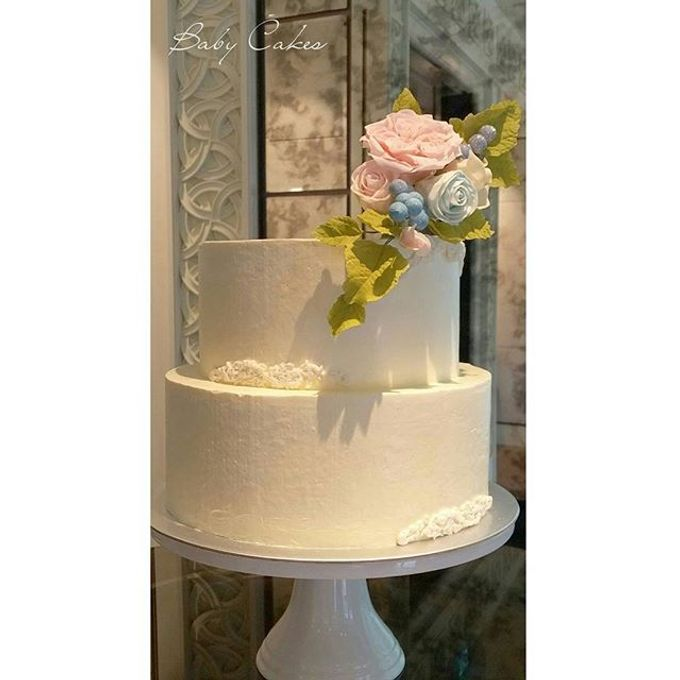 Single tier and multi tiered cakes by Baby Cakes - 014
