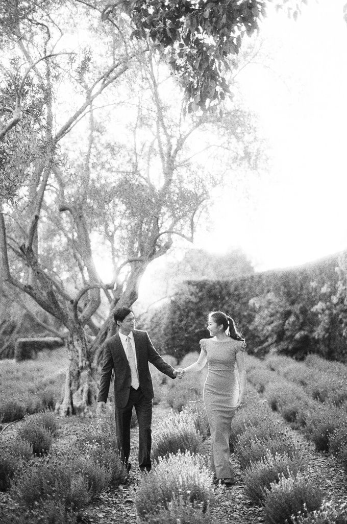 Chinese Tea Ceremony & Wedding in the Lavender Gardens of San Ysidro Ranch by Jen Huang Photo - 007