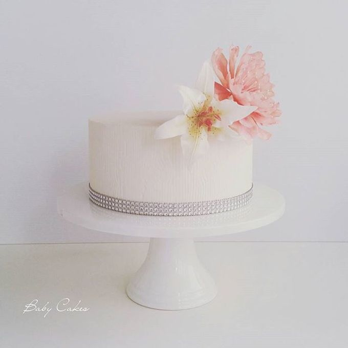 Single tier and multi tiered cakes by Baby Cakes - 017