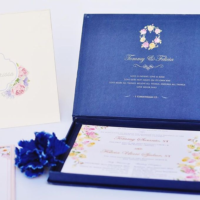 Invitation card and Souvernir Gift by Memoir card - 002