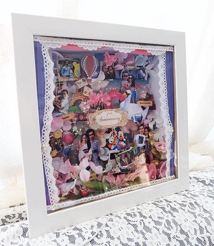 Scrap 3d frame by Cup Of Love Design Studio - 006