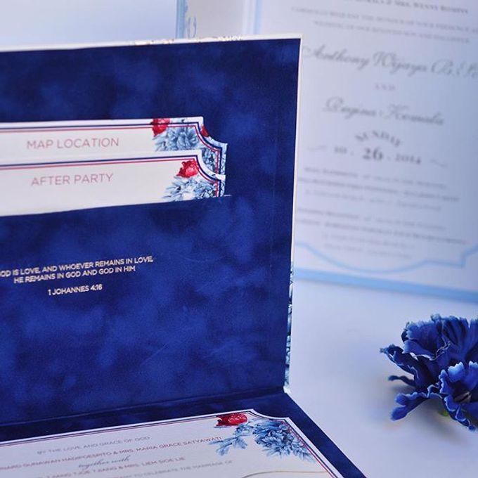 Invitation card and Souvernir Gift by Memoir card - 009