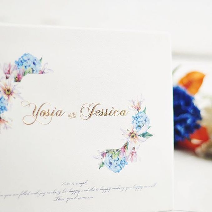 Invitation card and Souvernir Gift by Memoir card - 006