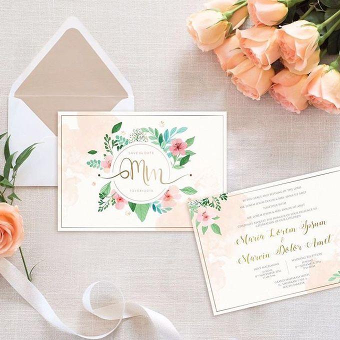 Invitation card and Souvernir Gift by Memoir card - 011