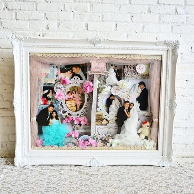 Scrap 3d frame by Cup Of Love Design Studio - 003