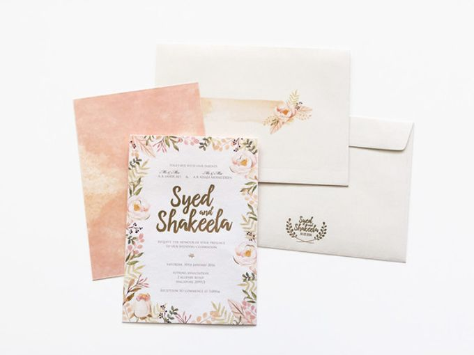Custom - Syed & Shakeela by PINE ON PAPER - 001