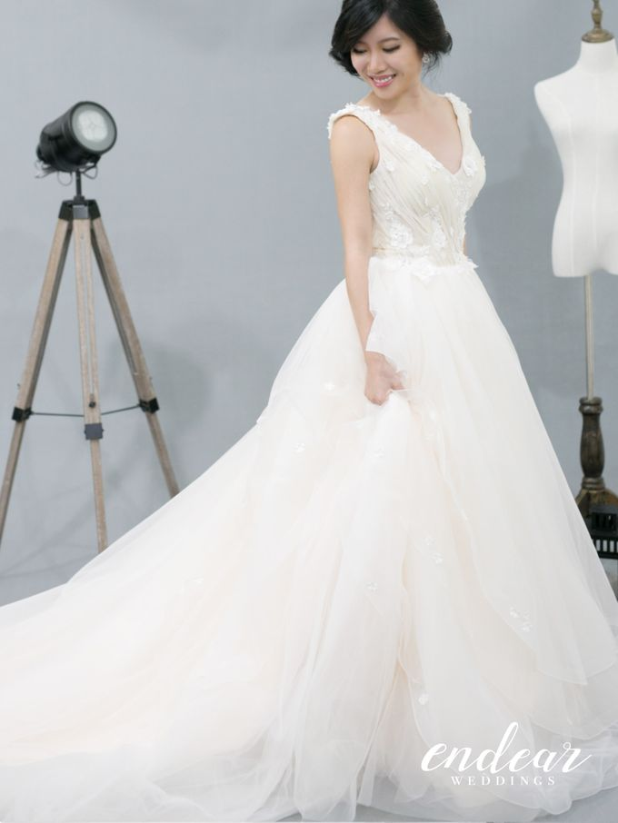 Midnight Garden Wedding Gown Collection by Endear Weddings - 002