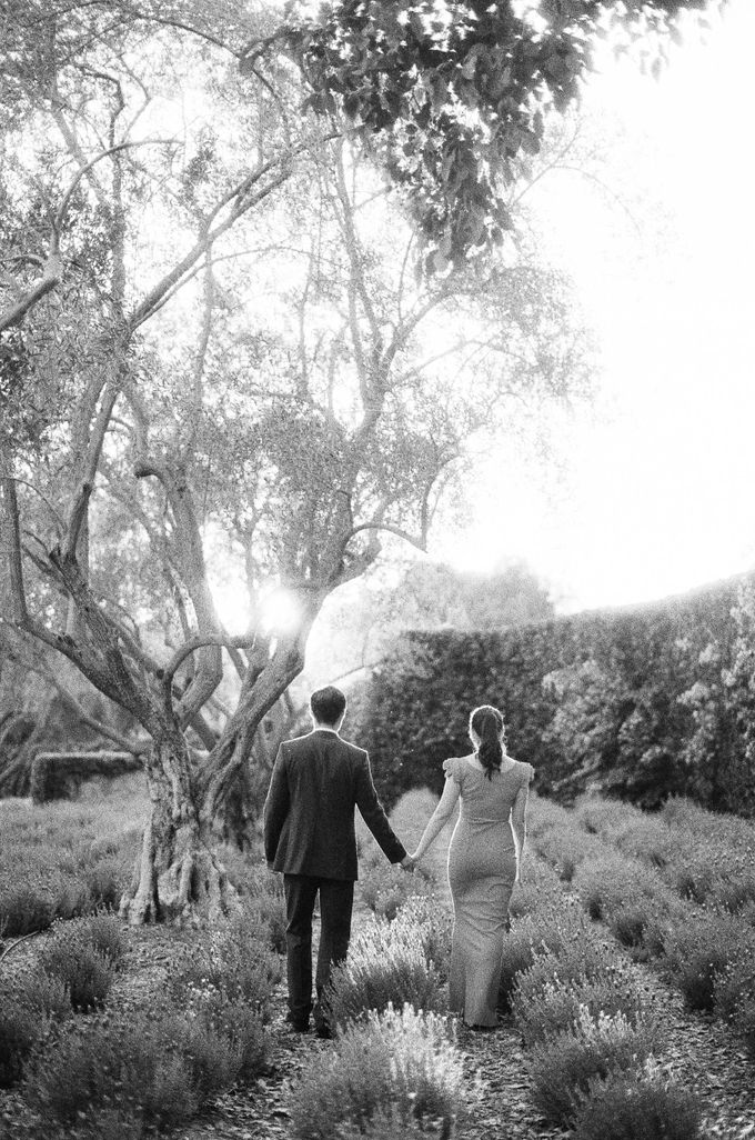 Chinese Tea Ceremony & Wedding in the Lavender Gardens of San Ysidro Ranch by Jen Huang Photo - 010