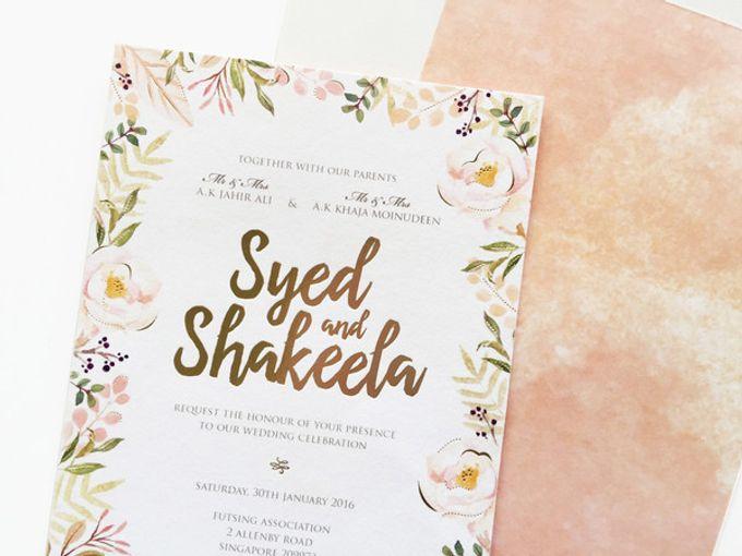 Custom - Syed & Shakeela by PINE ON PAPER - 003