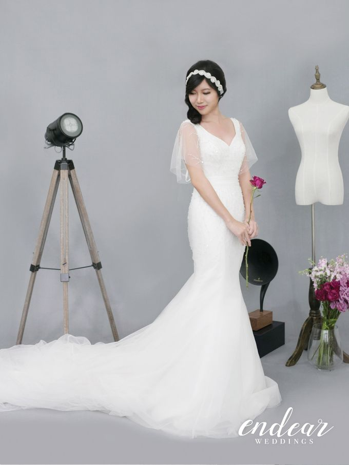 Midnight Garden Wedding Gown Collection by Endear Weddings - 010
