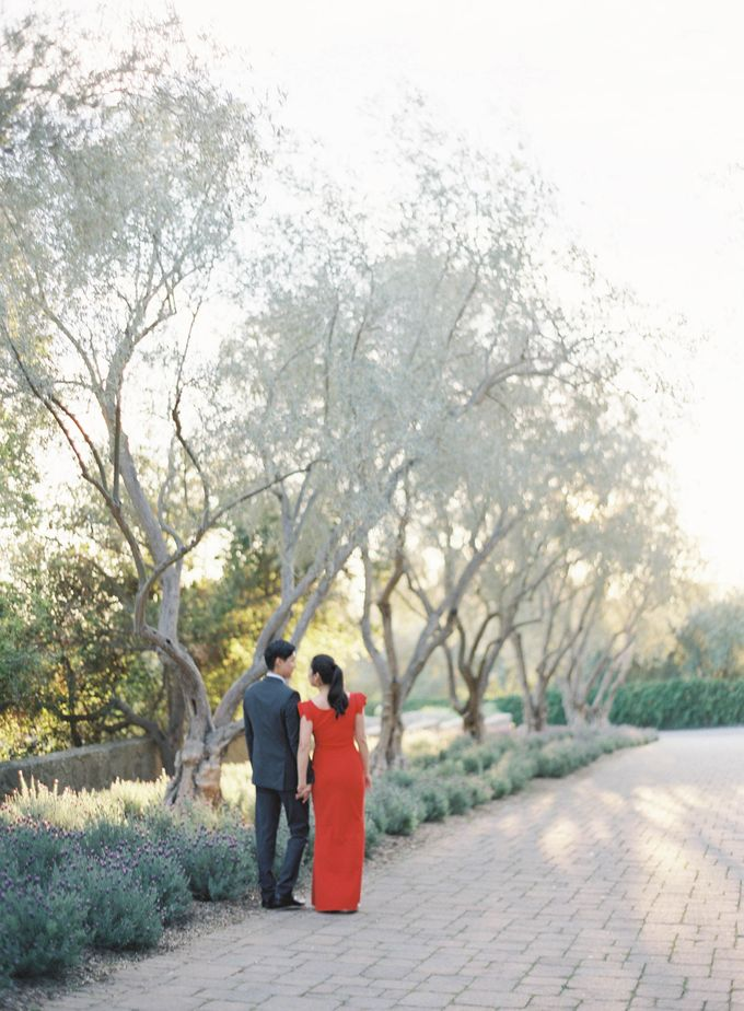 Chinese Tea Ceremony & Wedding in the Lavender Gardens of San Ysidro Ranch by Jen Huang Photo - 035