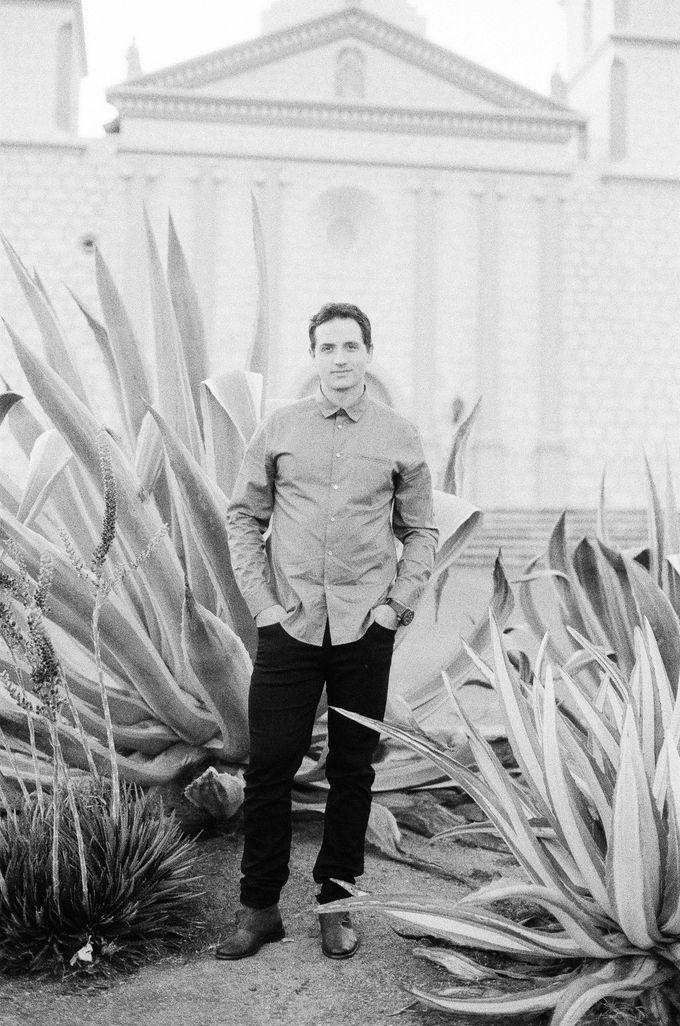Santa Barbara Historic Mission Engagement Shoot by Jen Huang Photo - 018