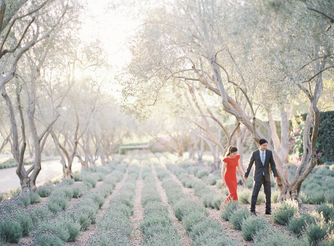 Chinese Tea Ceremony & Wedding in the Lavender Gardens of San Ysidro Ranch by Jen Huang Photo - 041