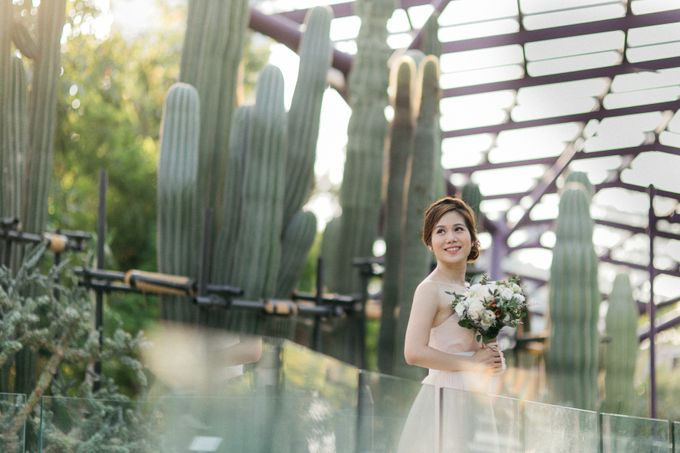 Floral & Garden Wedding Photoshoot by Après Makeup - 004