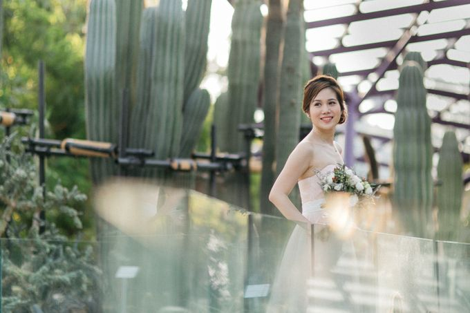 Floral & Garden Wedding Photoshoot by Après Makeup - 005