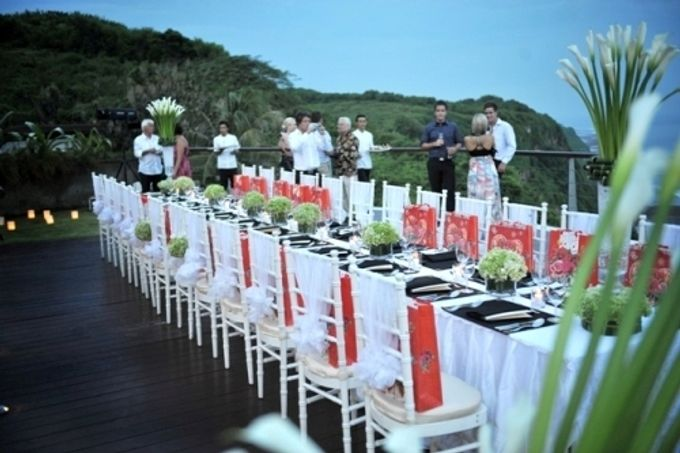 Wedding Dinner by Bali Exotic Wedding Organizer - 006